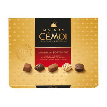 Boite de chocolat Cemoi Grand Assortiment Maison 400g (avec 50% en Ticket Leclerc)