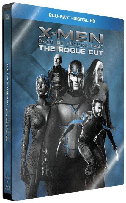 Blu-ray + Digital : X-Men : Days of Future Past - Édition Limitée Steelbook Rogue Cut
