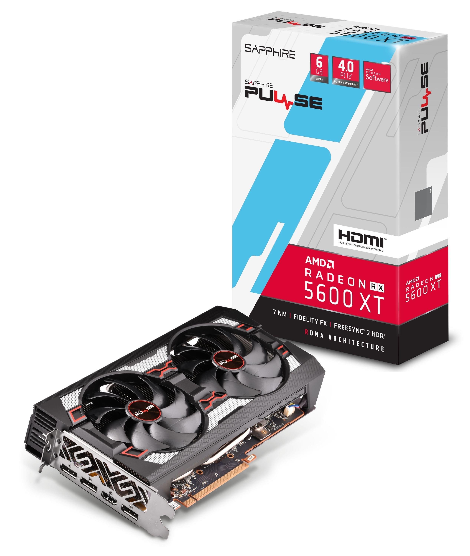 Carte graphique Sapphire Radeon RX 5600 XT Pulse - 6 Go