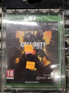 Jeu Call of Duty Black Ops 4 sur Xbox One - Aulnay sous Bois (93)