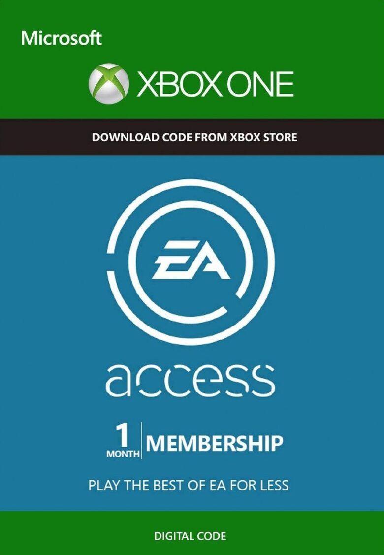 1 mois d'abonnement au EA Access sur Xbox One (Dématérialisé)