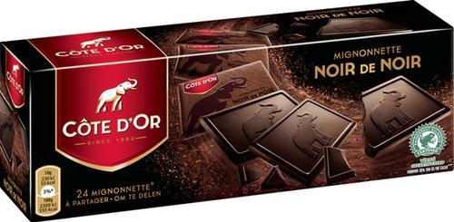 Chocolat Côte d'Or Mignonnette Noir de noir