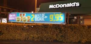 2 Menus Best Of Bigmac - Mcdonald's Essone (91)