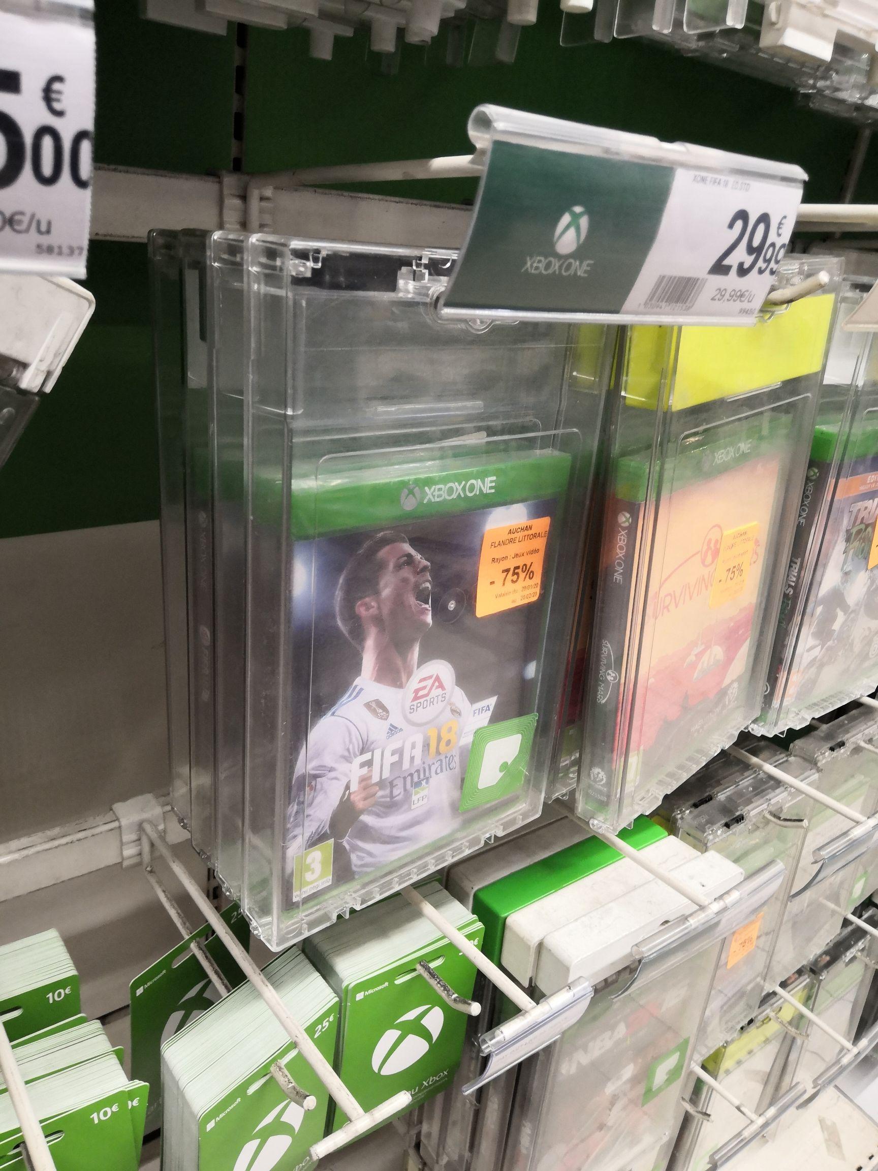 FIFA 18 sur Xbox One - Auchan Grande-Synthe (59)