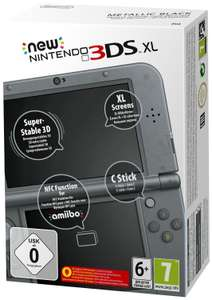 Pack Console New Nintendo 3DS XL - Noir + Jeu Xenoblade Chronicles 3D