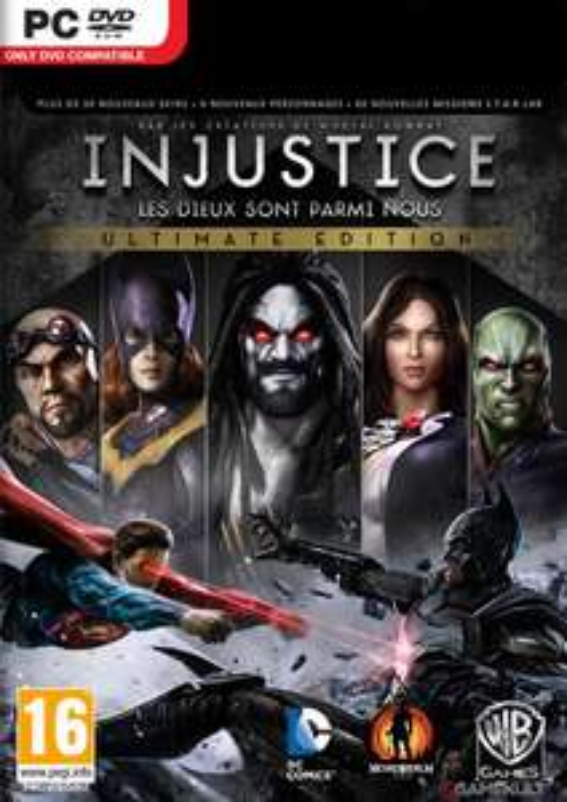 Injustice: Les dieux sont parmi nous - Ultimate Edition sur PC (dématérialisé - Steam)