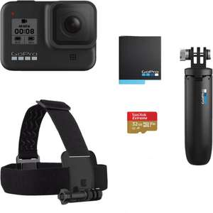 Pack caméra sportive GoPro Hero 8 + accessoires (Frontaliers Suisse)