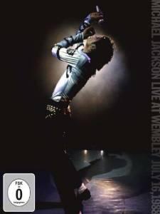 DVD Michael Jackson Live At Wembley (July 16, 1988)