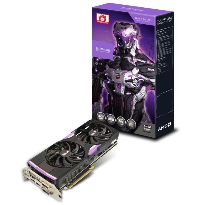 Carte graphique Sapphire Radeon R9 290 Dual-X OC