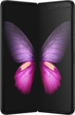 "Smartphone pliable 7.3"" Samsung Galaxy Fold - full HD, SnapDragon 855, 12 Go de RAM, 512 Go, argent ou noir"