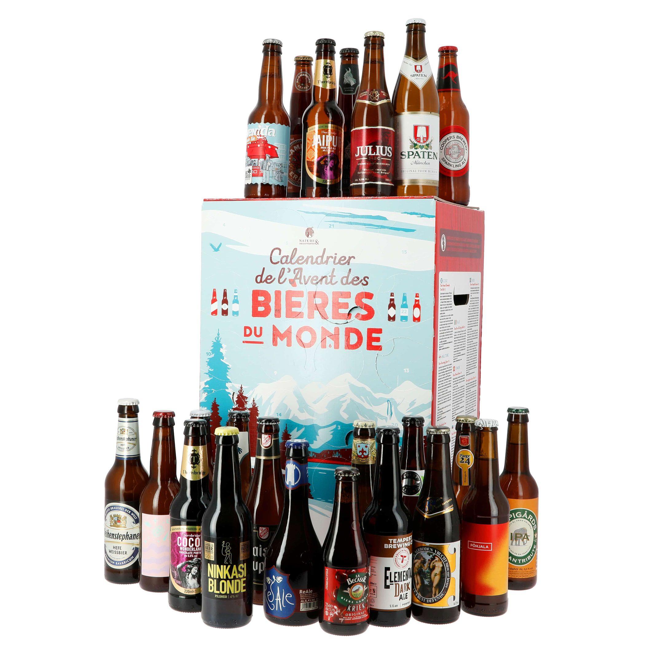 Calendrier de l'avent bières 2019
