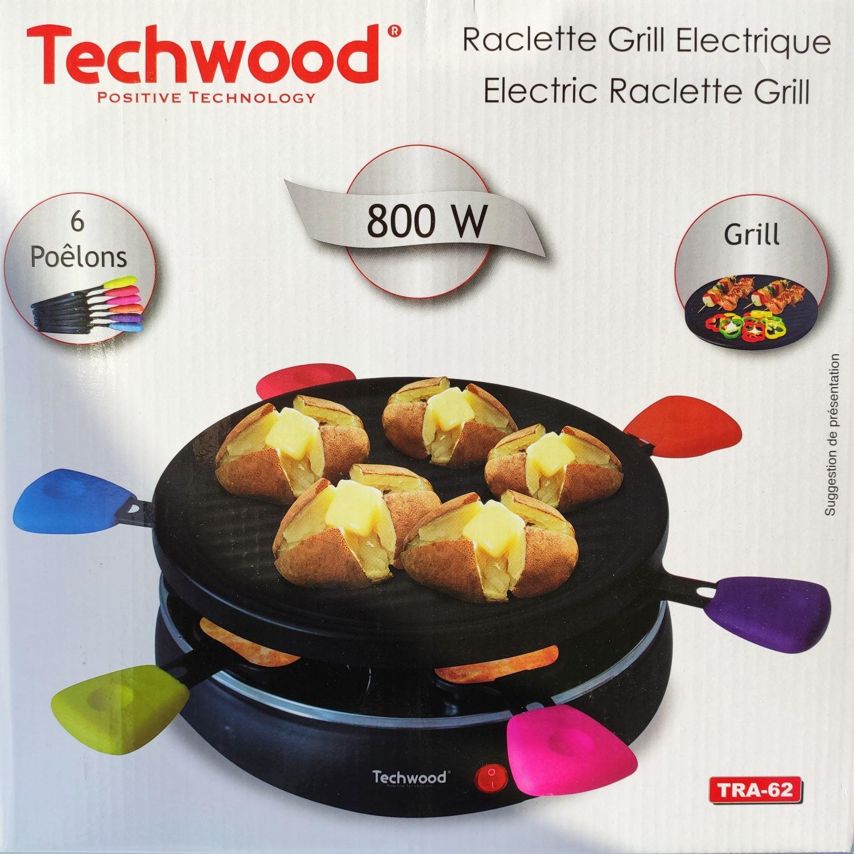 Appareil à raclette Techwood TRA-62 (Saint-Germain-sur-Morin 77)