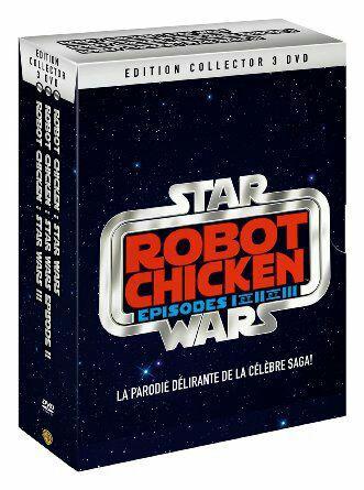 Coffret DVD Robot Chicken Star Wars épisodes I, II et III