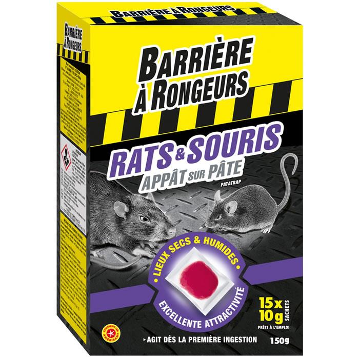 Appât sur pâte pour rat et souris Algoflash - Toulouse Lalande (31)