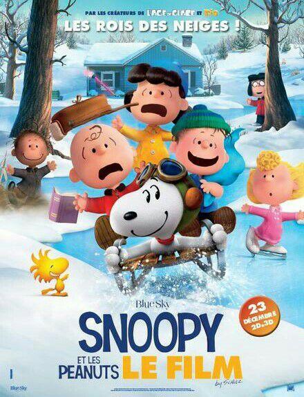 Place de cinéma enfant gratuite pour le film snoopy dans une sélection de cinémas