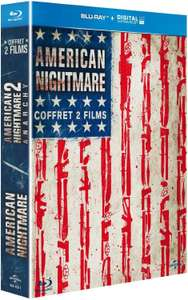 Coffret Blu-ray : The American Nightmare Coffret : The Purge + The Purge: Anarchy