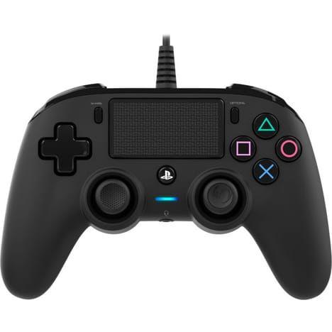 Manette filaire compacte Nacon pour PS4 - Noire