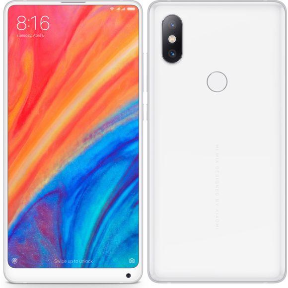 """Smartphone 5.99"""" Xiaomi Mi Mix 2S - full HD+, SnapDragon 845, 6 Go de RAM, 128 Go, blanc (via ODR de 50€)"""