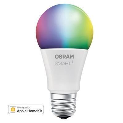 Ampoule couleur Osram Smart+ E27 compatible Bluetooth / Apple HomeKit