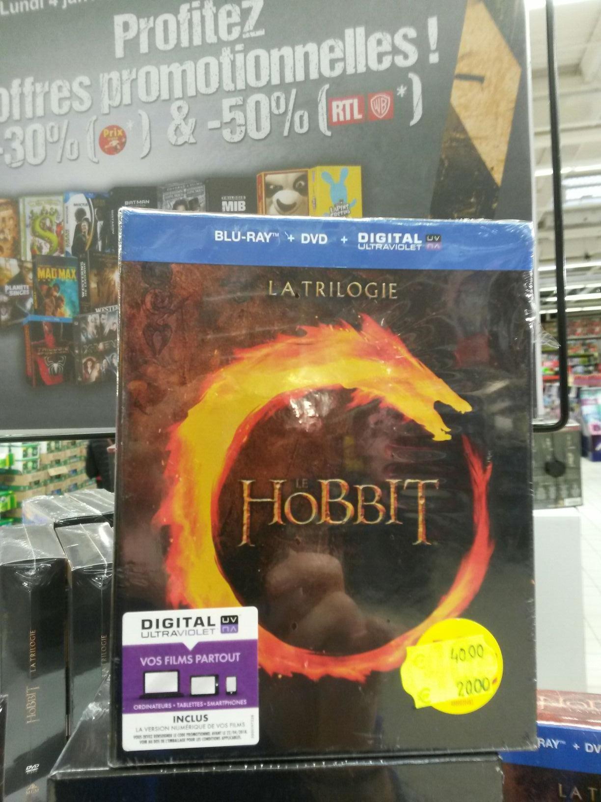 50% ou 30% de réduction sur une sélection de coffrets - Ex : Coffret Blu-ray + DVD Le Hobbit - La Trilogie