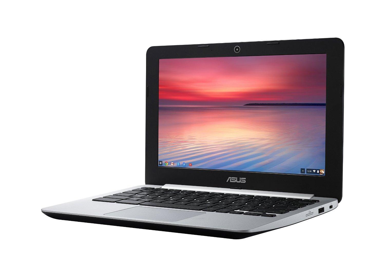 """PC Portable 11.6"""" Asus Chromebook C200MA-KX018 Noir - Intel Celeron N2840, 4 Go de RAM, SSD 32 Go, Chrome OS"""