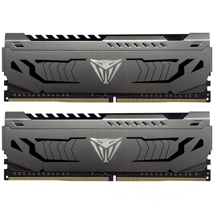 Kit Mémoire RAM Patriot Viper Steel Series - 16 Go (2 x 8 Go) DDR4, 4400MHz, CL19