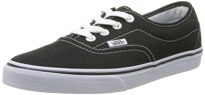 Chaussures Vans Lpe U - Noires/Blanches, Taille 43 et 44