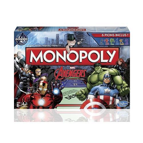 Jeu de société Monopoly - édition Avengers