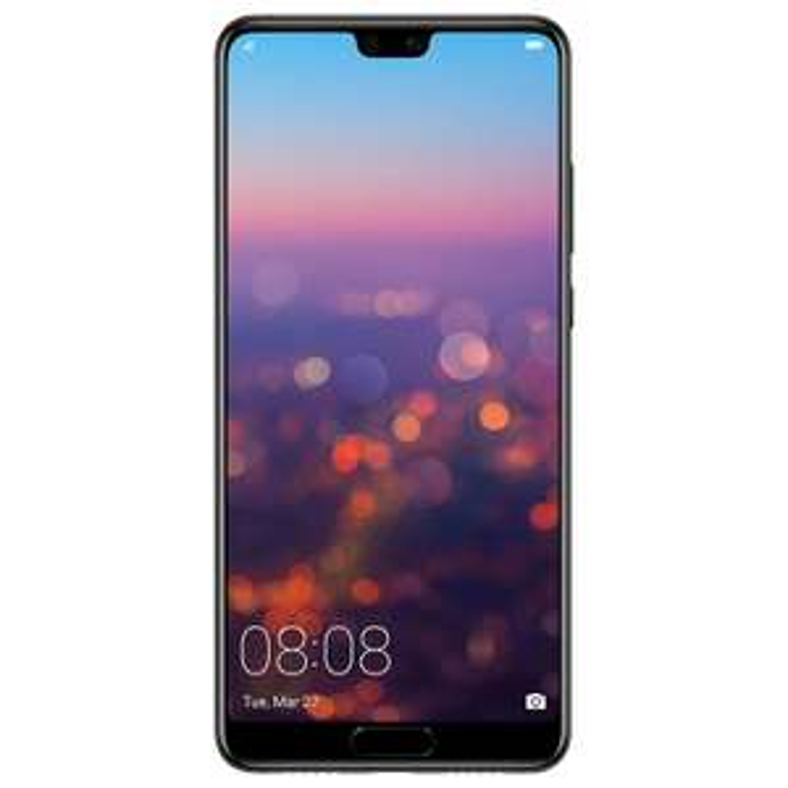 """Smartphone 5.84"""" Huawei P20 - 128 Go, Noir ou Twilight (Reconditionné - Très bon état)"""