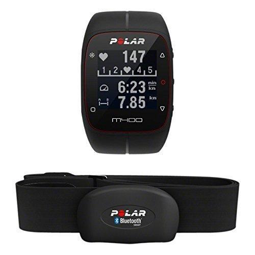 Montre running GPS/Cardio Polar M400 HR avec ceinture cardiaque