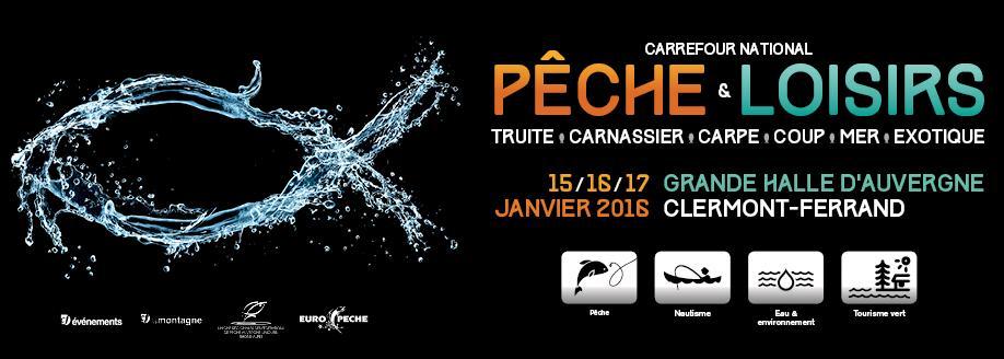 Entrée gratuite salon de la pêche Clermont-Ferrand
