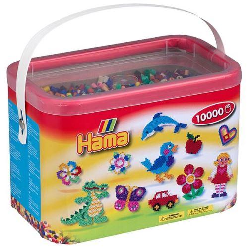 Kit créatif Hama Baril - 10000 perles à repasser
