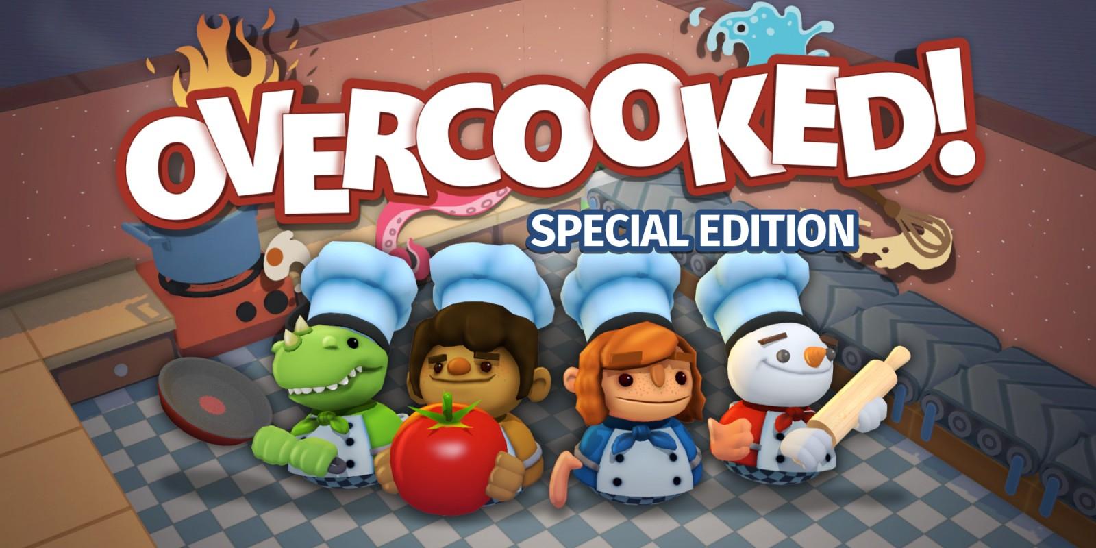 Sélection de jeux en promotion - Ex : Jeu Overcooked: Special Edition sur Nintendo Switch (Dématérialisé)