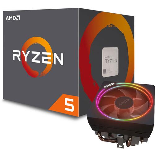 Processeur AMD Ryzen 5 1600 AF (3.2 GHz) + Wraith Prism