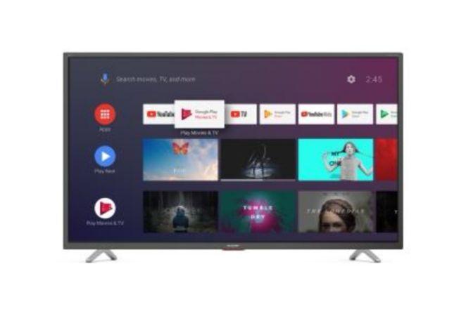 "TV LED 50"" Sharp 50BL5EA - 4K UHD, Smart TV - Gris foncé"