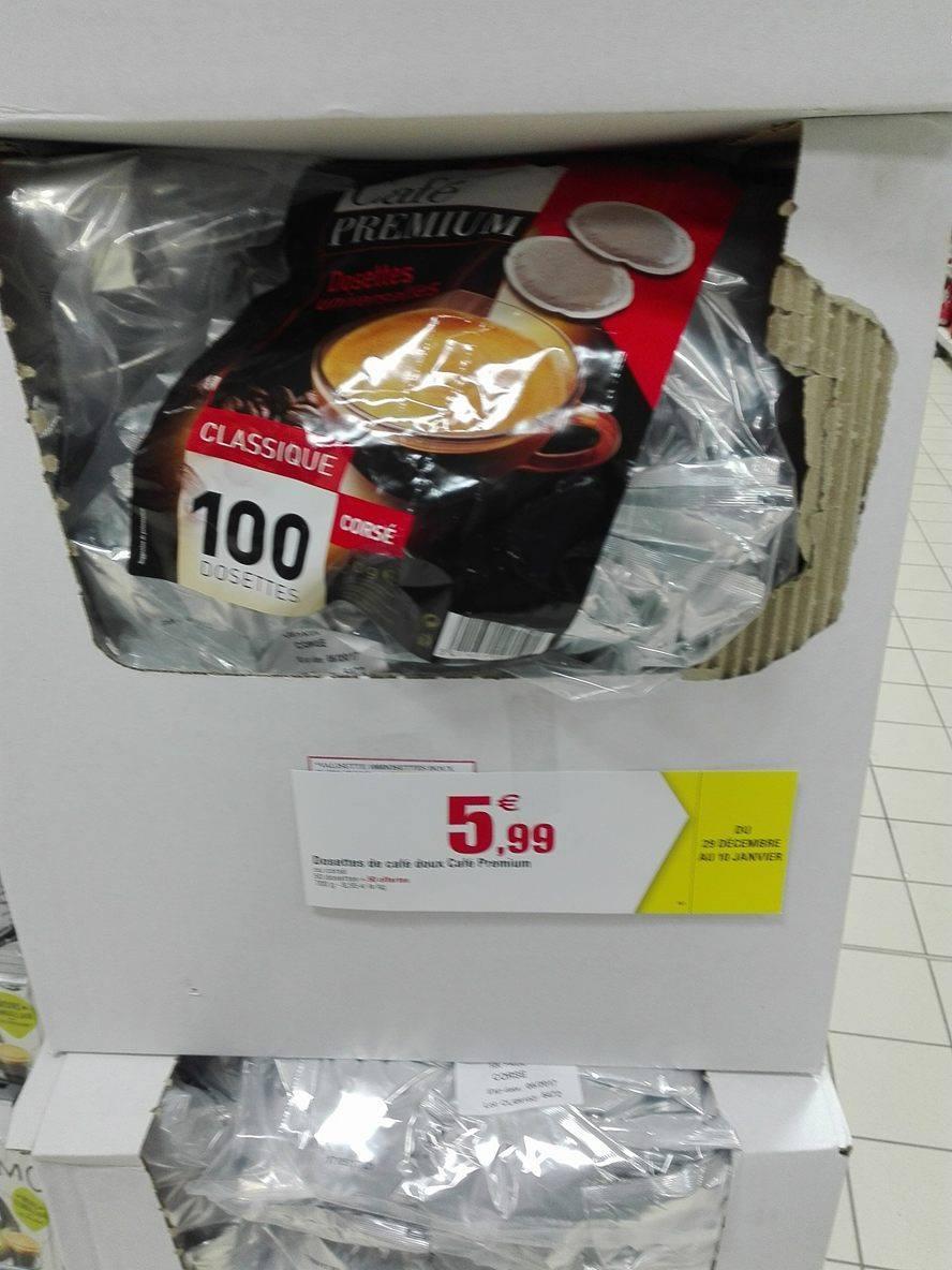 """100 dosettes souples de café """"Café Premium"""""""