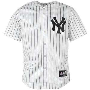 maillot baseball new york yankees majestic replica. Black Bedroom Furniture Sets. Home Design Ideas