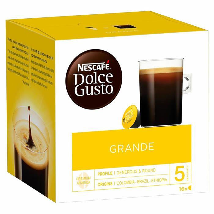 3 Boites de Café Dolce Gusto Grande Aroma - 3 x 16 capsules - Labège (31)