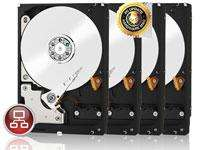 Lot de 4 Disques Durs Western Digital WD Red 3 To - Occasion
