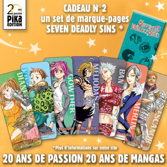 Manga Seven Deadly Sins : Tome 1, 2 ou 3 (pika.fr)