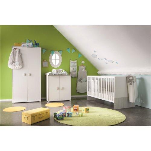30% de réduction sur des chambres pour bébé - Ex : Ensemble lit 70 x 140cm + commode