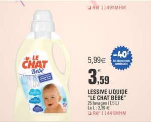 Lessive le Chat bébé (via BDR)