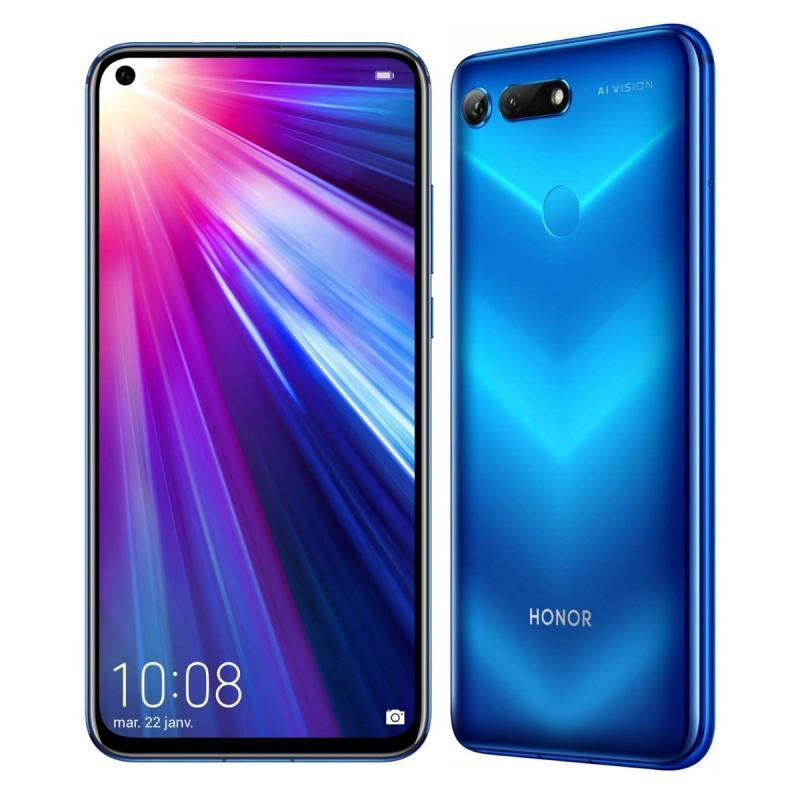 "Smartphone 6.4"" Huawei Honor View 20 Rouge - 256Go, RAM 8Go"