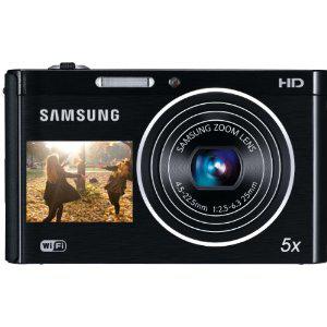 APN Samsung DV300F (16 Mpx, dual screen, Wi-Fi) + Carte Micro SD 2 Go + Housse