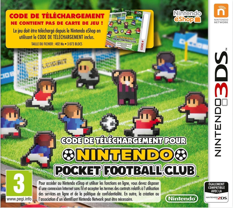 Nintendo Pocket Football Club sur 3DS
