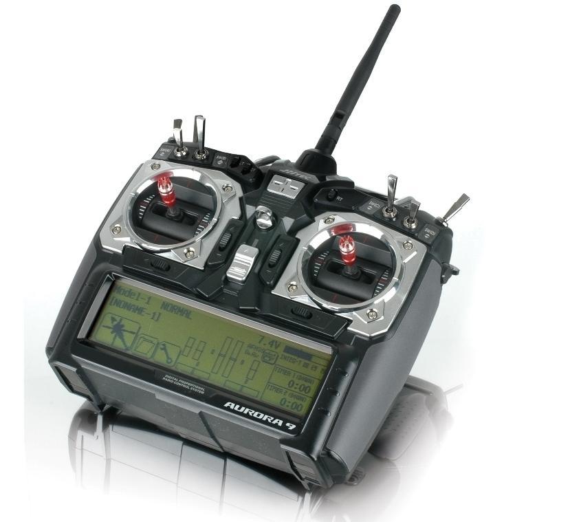 Radiocommande Hitec Aurora 9 AFHSS 2.4GHz Avec Optima 7