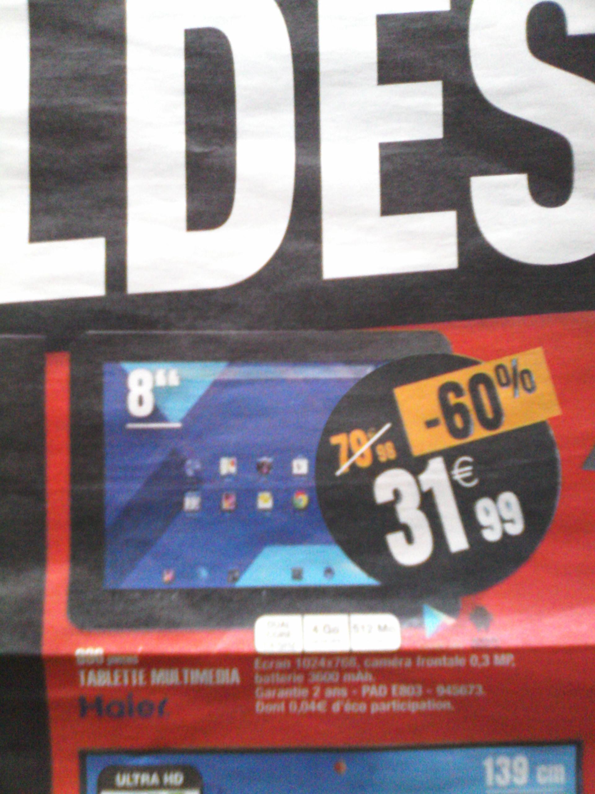 "Tablette 8"" Haier PAD 803"