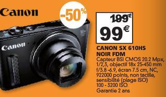 Appareil photo Canon SX610HS