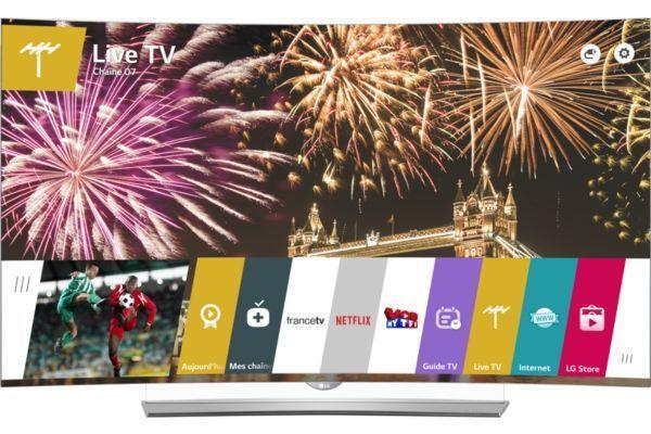 """TV 55"""" LG 55EG960V - Incurvé, OLED, 4K"""