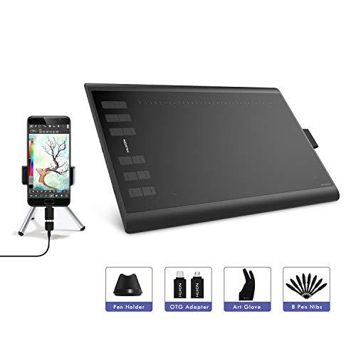 """Tablette Graphique Inspiroy Huion H1060P (sans écran) - 10 x 6.25"""" (Vendeur Tiers - Expédié par Amazon)"""